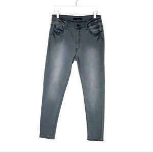 KanCan Gray Skinny Jeans - stretchy NWT size 11